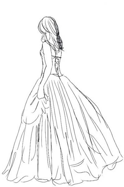 True Bride sketch