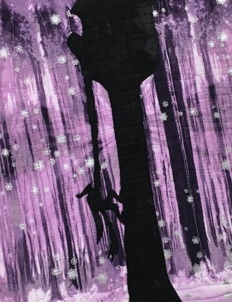 Rapunzel - Purple detail 1