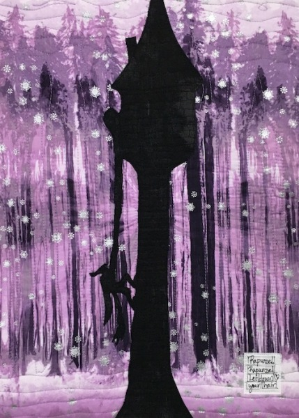 Rapunzel - Purple detail 2